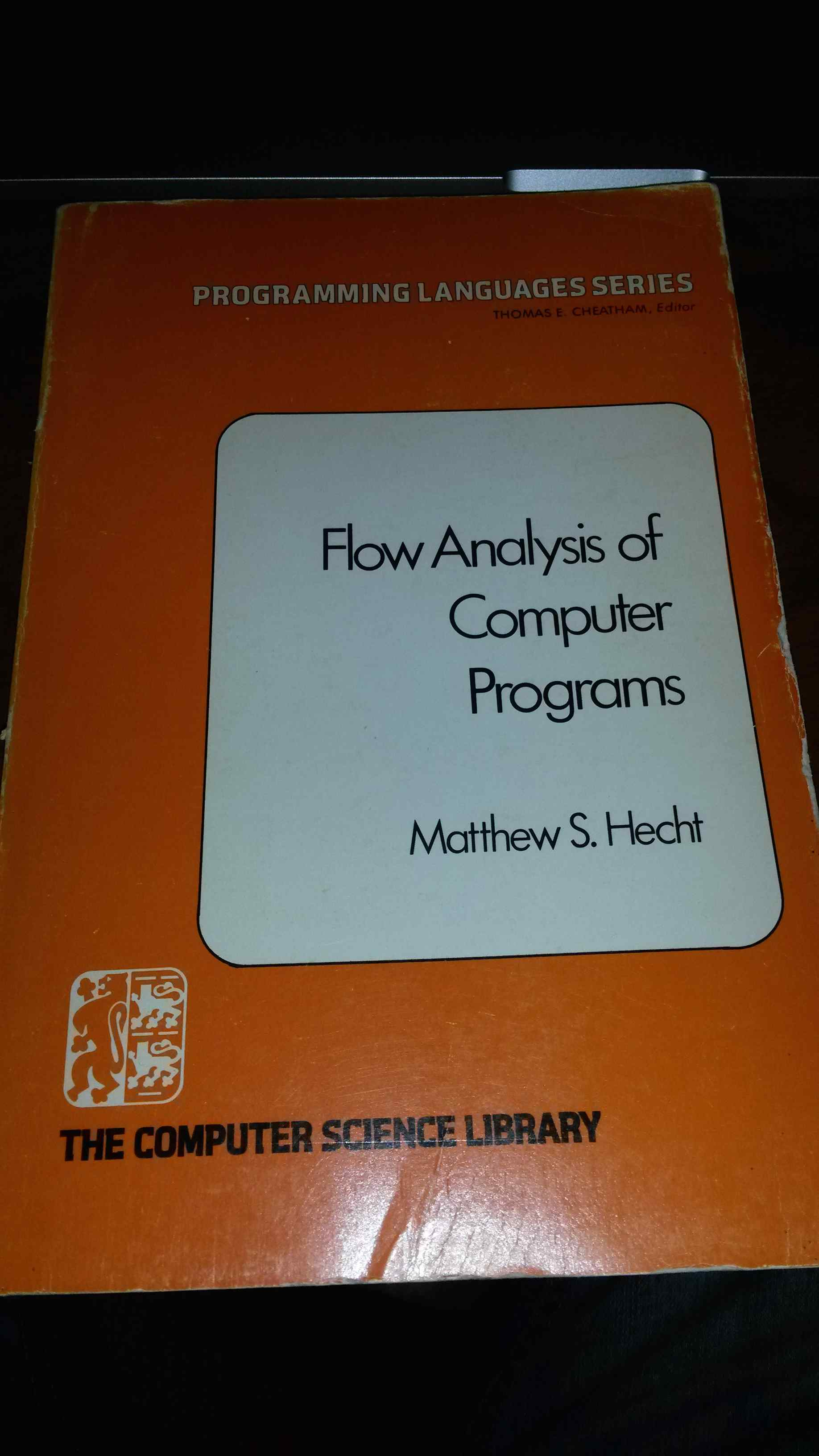 Flow Analysis of Computer Programs